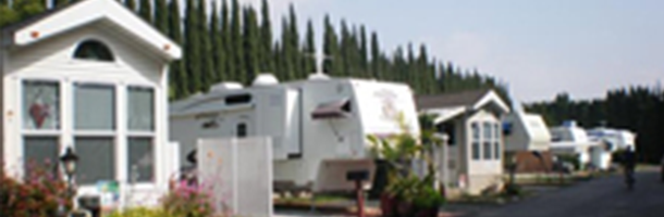 RV Park | Parque Santiago Mobile Home Park - Orange County, CA